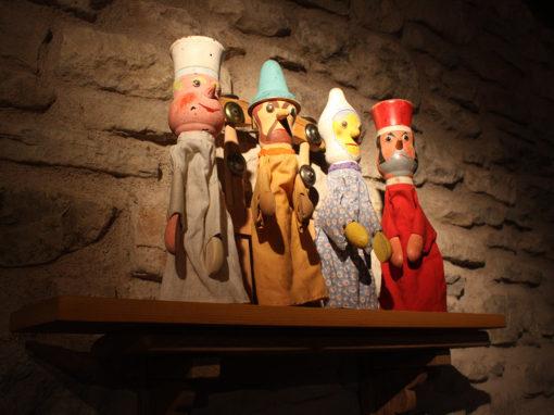The puppet museum – La Casa de los Títeres de Abizanda Exhibition space.