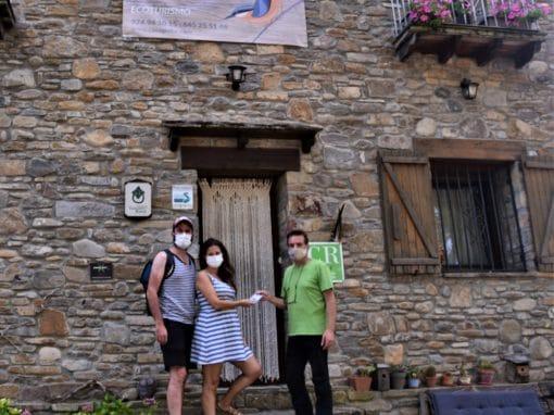Patricia, de Vitoria, disfrutó con su familia de una estancia en Casa Gerbe